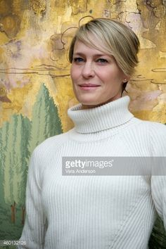 Photo d'actualité : Robin Wright at the 'House Of Cards' Press...