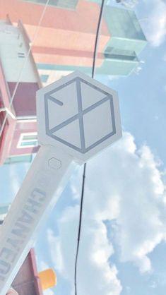 Baekhyun, Lightstick Exo, Kpop Exo, Park Chanyeol, Exo Ot12, Chanbaek, Exo Lockscreen, Exo Fan, Exo Members