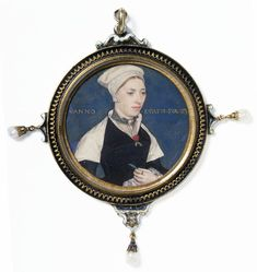 Mrs Jane Small, Formerly Mrs Pemberton By Hans Holbein (1497-1543) - England, Great Britain   c.1536