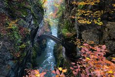 Gorge De L'areuse, Svizzera