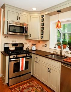51 Awesome Small Kitchen With Island Designs | Island design ...