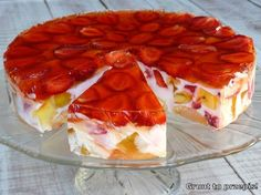 pl:: Przepisy kulinarne w jednym miejscu. Sweets Cake, Cookie Desserts, No Bake Desserts, Menu Restaurant, Cake Cookies, Waffles, Food And Drink, Fish, Dinner
