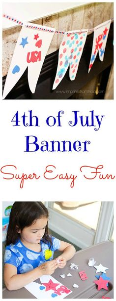 Imprints From Tricia : 4th of July Banner