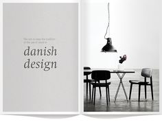 We aim to keep the tradition of the use of wood in Danish design