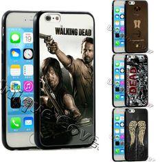 The Walking Dead Rick&Darryl TPUPC For Iphone 6 plus&Samsung s6 edge phone case #UnbrandedGeneric