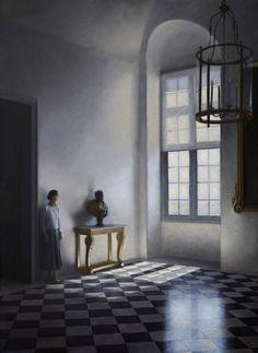 Contemporary Art London, Magic Realism, First Art, French Art, Lock Screen Wallpaper, Interior Paint, Artist Art, Painting Inspiration, Lovers Art