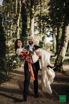 What a wonderful wedding photo taken in our private woodland! 📸 by pawel bebenca October Wedding, Wedding Story, Real Weddings, Celtic, Woodland, Wedding Photos, Wedding Photography, Exterior, Couple Photos