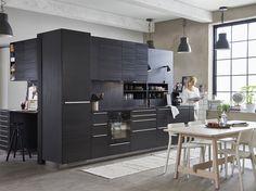 Green ikea kitchen   Kitchen   Pinterest   Ikea small kitchen