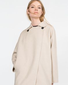 Image 2 of HAND MADE COAT from Zara