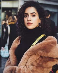 Image may contain: 1 person, closeup Sanya Malhotra, Beautiful Saree, Celebs, Celebrities, Bollywood Actress, Indian Actresses, Girl Crushes, Photography Poses, Casual Wear