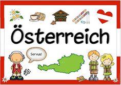 """Ideenreise: Länderplakat """"Österreich"""""""