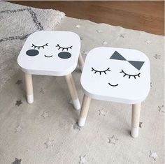 mommo design: IKEA STOOLS HACKS