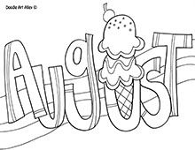 august coloring pages for teens - photo#23