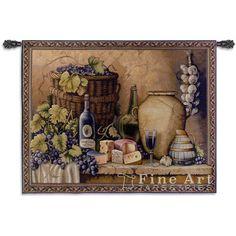 Гобелен Картина Дегустация Вин 133x95 - - Каталог   Mагазин гобеленов