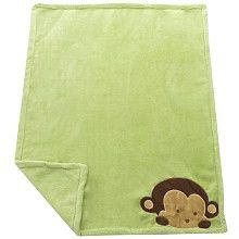 Mod Pod Pop Monkey Blanket - Kids Line - Babies R Us