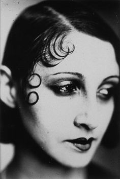 Jacques Henri Lartigue  French (Courbevoie, France, 1894 - 1986, Nice, France)   Renée Perle, Portrait with Kiss Curls  ca. 1931  photograph | gelatin silver print