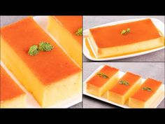 Pudding Ingredients, Caramel Pudding, Sugar Craft, Pudding Recipes, Puddings, Oven, Tasty, Cooking, Youtube