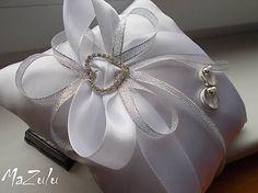 MaZulu / svadobný vankúšik pod prstienky