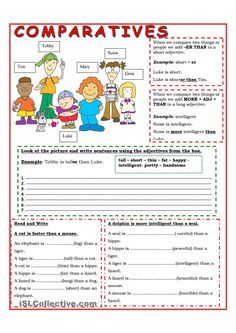 Compound Fractions Worksheet Excel Comparative Adjectives  Teaching  Pinterest  English  Pre Cursive Handwriting Worksheets Pdf with Grade 6 Maths Worksheets Printable Excel In This Worksheet You Will Find An Easy Explanation Of Comparative With  Short And Long Adjectives And Then Some Easy Exercises Adjectives  Writing  Near Doubles Worksheet Word