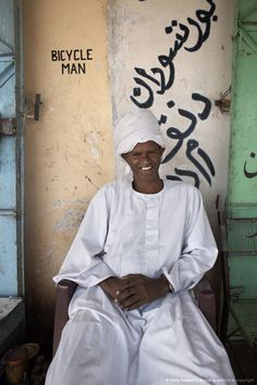 Local Sudanese in the town of Karima, Sudan, Africa
