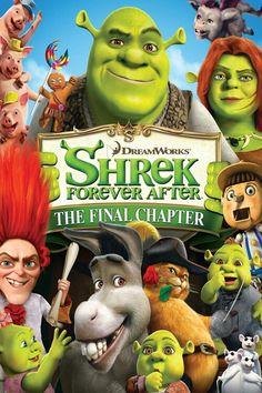 Shrek 4: Forever After (2010) Animatie, In plaats van het afschrikken van menig dorpsbewoner is Shrek (Mike Myers) inmiddels een echte familieman geworden. Shrek komt in contact met de gladde praatjesmaker Repelsteeltje. Hierdoor komt hij tot zijn schrik terecht in een alternatieve versie van zijn wereld, Far Far Away, waar er gejaagd wordt op Ogres en hij Fiona (Cameron Diaz) helemaal nooit ontmoet heeft. Aan hem de taak om zijn vertrouwde wereld weer terug te krijgen.