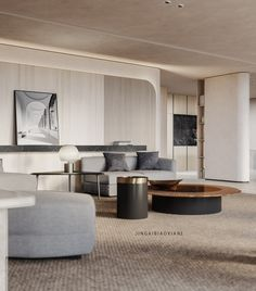 你好 色彩 !!! - 原创作品 - 站酷(ZCOOL) Minimalist Interior, Modern Interior Design, Interior Architecture, Master Bedroom Interior, Living Room Interior, Design Bedroom, Furniture Styles, Furniture Design, E Room