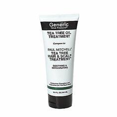 GVP Tea Tree Oil Treatment: Compare to Paul Mitchell Tea Tree Hair & Scalp Treatment