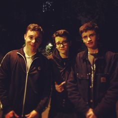 Asa Butterfield and friends. Sometimes he looks like Alex goot, other times it's troye Sivan, and still yet there's times when he looks like Damian mcginty.