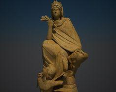 Greek Goddess 3D Model - 3D Model