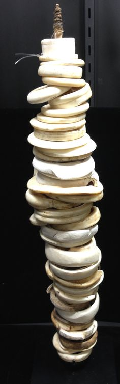 Shell Papua New Guinea Shell Tridacna Money Stick Handmade Natural Shells Brides Gift Currency Trading Stick Money Status One of a Kind