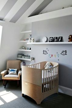 Leander cot. Such a beautiful & clever design