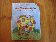 """Sie bieten auf das neue original verpackte Buch inkl. CD """"Villa Menschenkinder"""""""