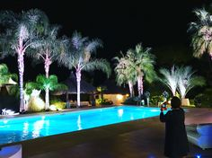 Beautiful Lighting at Villa Demetra!  Wedding 💍❤ Lighting made by Roma Party Service ❤