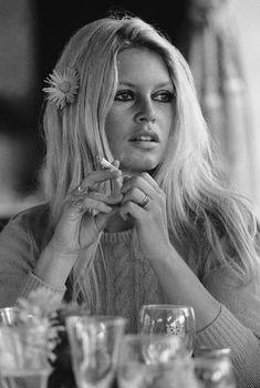 Brigitte Bardot en el set de Shalako, en 1968.