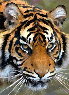 tiger_look_cross_stitch_image.jpg 1000 × 1381 bildepunkter