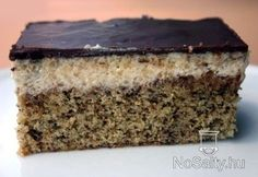 Croatian Recipes, Hungarian Recipes, Hungarian Food, Poppy Cake, Walnut Cake, Sweet And Salty, Cake Cookies, Nutella, Bakery