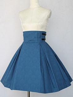 Victorian maiden ノーブルジャカードリボンスカート