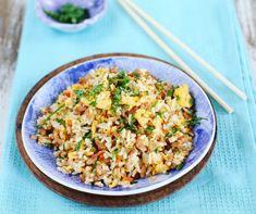 Egy finom Darálthúsos-tojásos pirított rizs ebédre vagy vacsorára? Darálthúsos-tojásos pirított rizs Receptek a Mindmegette.hu Recept gyűjteményében! Fried Rice, Fries, Ethnic Recipes, Food, Essen, Meals, Nasi Goreng, Yemek, Stir Fry Rice
