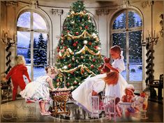gifs animes noel - Page 7 Christmas Scenes, Christmas Past, Merry Christmas And Happy New Year, Christmas Pictures, Christmas Greetings, All Things Christmas, Winter Christmas, Christmas Morning, Xmas