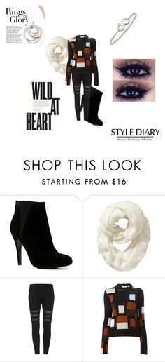 """""""Jennifer's November Outfit"""" by bambidarling3 on Polyvore featuring ALDO, Old Navy, Fendi and Tiffany & Co."""