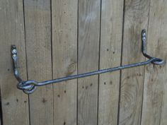 Wrought iron towel bar,  Bathroom Accessories, Wrought iron, Hand forged…