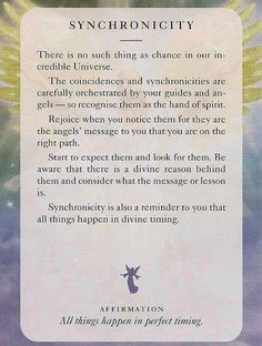 Synchronities