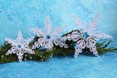 KETCHUM snowflakes - Paper quilled ornament - Christmas decoration - Handmade gift