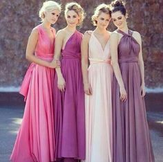 perfect bridesmaid gowns!