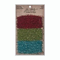 Tim Holtz Ideaology Tinsel Twine, Winter
