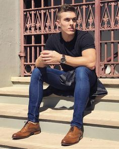 Men – World Trends Fashion Men's Fashion, World Trends, How To Look Skinnier, Lined Jeans, Super Skinny Jeans, Tights, Menswear, Jay, Fisher
