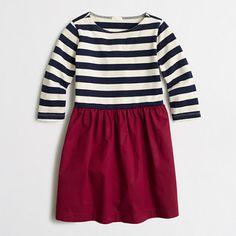 J.Crew Factory - Factory girls' striped skirt dress
