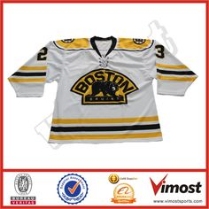 ac803697f34 Wholesale 100% polyester customize sublimation Cheap Bear fans Ice hockey  jersey Custom Hockey Jerseys