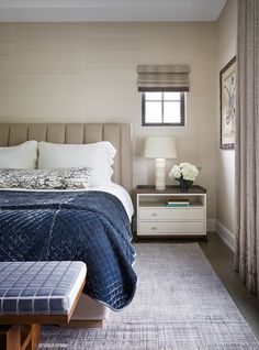 Michael Abrams Interiors - Hinsdale, Master Bedroom