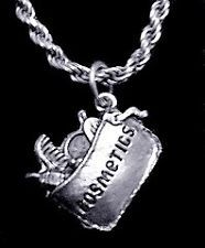 COOL Cosmetics makeup Sterling Silver Pendant charm Jewelry